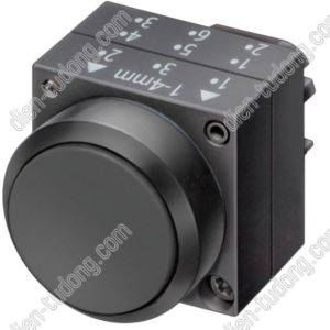 Nút nhấn Siemens-22MM PLASTIC-3SB3000-0AA11