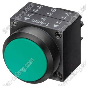 Nút nhấn Siemens-22MM PLASTIC-3SB3000-0AA71