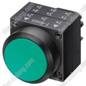 Nút dừng khẩn cấp-22MM PLASTIC-3SB3000-1HA20