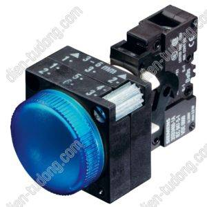 Nút nhấn Siemens-22MM PLASTIC-3SB3212-6AA40